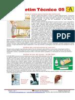 Boletim Tecnico 05 - Equipamentos e Teste Para Analise de Estruturas
