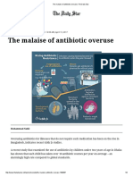 The Malaise of Antibiotic Overuse _ the Daily Star