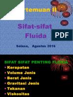 Mekanika Fluida II 2016