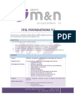 Itil Foundations Online