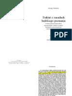 Berkeley - Traktat o Zasadach