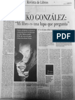 Poeta Yanko González Entrevista El Mercurio 2-4-2017