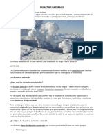 DESASTRES NATURALES  1