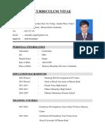 CV(Sem Rakky)
