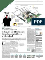 Chavín de Huantar, Túneles, Sacrificio y Libertad