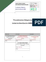 Manual de Procedimientos Obligatorios de Esterilización Version Nº 7 (7) Revisado