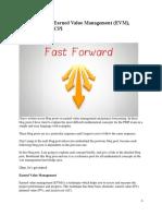 Fast Forward – Earned Value Management (EVM), Forecasting & TCPI