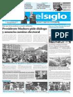 Edición Impresa El Siglo 24-04-17