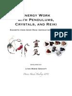 Energy Work With Pendulums, Crystals, And Reiki (2013)- Lynn Marie Gravatt