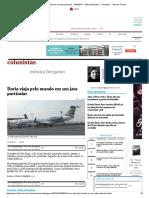 Doria Viaja Pelo Mundo Em Seu Jato Particular - 24-04-2017 - Mônica Bergamo - Colunistas - Folha de S