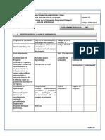 Guia 5. Manejo de Datos en Excel