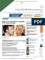 Macron e Le Pen Iniciam a Campanha Do 2º Turno Na França - 24-04-2017 - Mundo - Folha de S