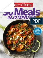 30 Meals in 30 Minutes - April 2017
