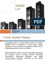 Digital Reverse Power Relay