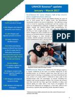 UNHCR External Update January_March 2017