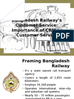 Bangladesh Railway's Customer Service