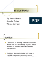 AIChe Batch Model