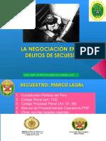 Exposicion Negociacion en Los Delitos de Secuestro