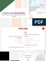 Metode Analisis Perencanaan - Analisis Kualitatif