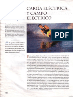 CARGA ELECTRICA Y CAMPO ELECTRICO