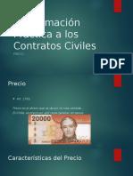El precio - Aspectos practicos contratos civiles