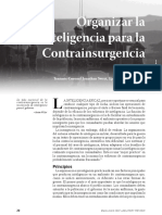 Inteligencia Para La Contrainsurgencia, Military Review