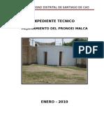 Memoria Descriptiva de los SS.HH Pronoei Malca.doc