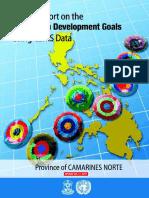 Status Report MDG CamNorte