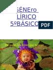 Lenguaje Lirico 5 Básico