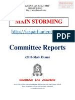 Committee Reports - Shankar IAS