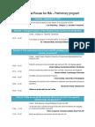 Conference Agenda 170418