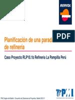 Gestion Proyectos Parada Planta