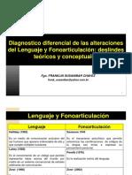 Diagnost Diferencial Leng y Habl