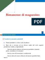 18. Rimanenze Di Magazzino 2016-2017