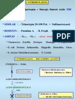 Cotrimoxazol - Nitrofurantoínas