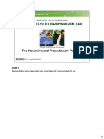 9 Preventive and Precautionary Principles Revised