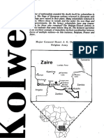 Kolwezi, Military Review