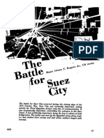 La Batalla Por La Ciudad de Suez, Military Review