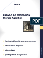 AGAMBEN - ESTADO DE EXCEPCIÓN (resumen)