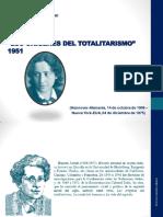 Arendt - TOTALITARISMO (esquema)