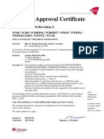 EC Type-Approval Certificate No. DK0199.274 Revision 2