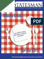Menu Guide Spring 2017