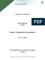 Unidad 1. Fundamentos de Conmutacion