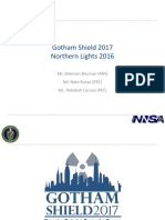 FRMAC-STATE Webinar Gotham Shield Northern Lights Brief JAN 2017