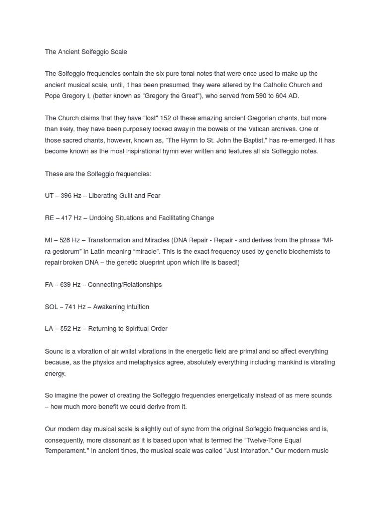 Solfegio tonovi | Chakra | Pitch (Music)