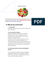 Anima Nutrition Part One Lesson Summary
