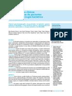 Características Clínicas y Demógraficas de Pacientes Sometidos a Cirugía Bariátrica en Medellín