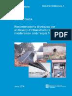 ACA Recomanacions Tecniques Disseny Infraestructures 2006