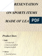 presentation on sports items made of leather (1).pptx