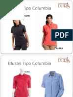 Blusas Y Camisas Tipo Columbia